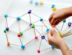 3D para niños con plastilina